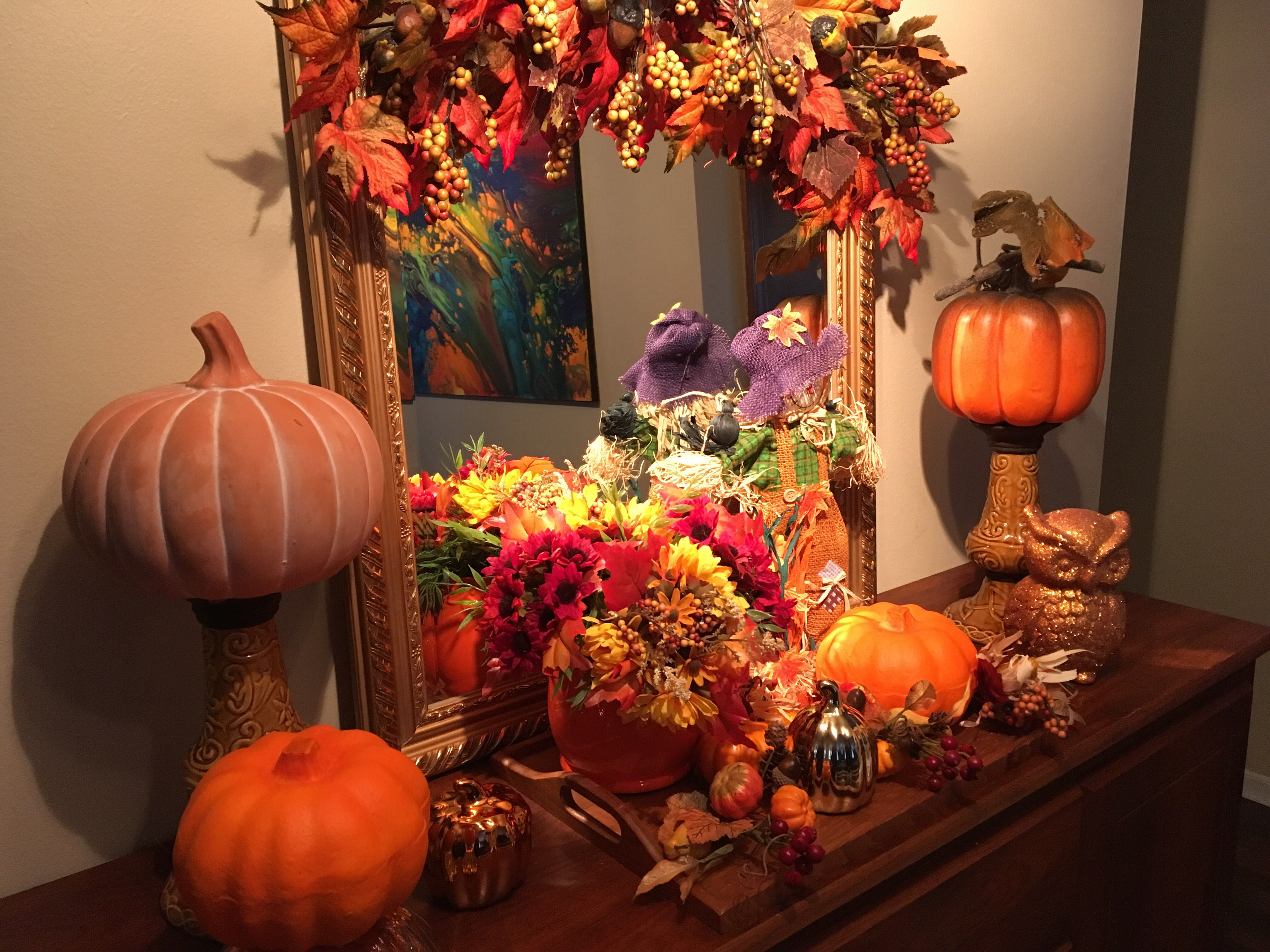 Ideas on how you can decorate your home indoors and outdoors for the Halloween holiday.